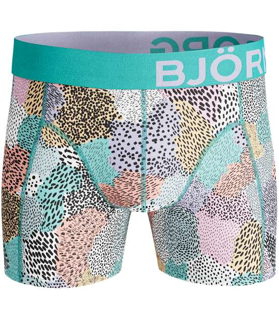 Björn Borg | 2p SHORTS BB PAINTED ANIMAL Aruba Blue