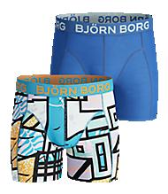 Björn Borg MULTICOLOUR BOYS SHORTS BLUE 2-pack