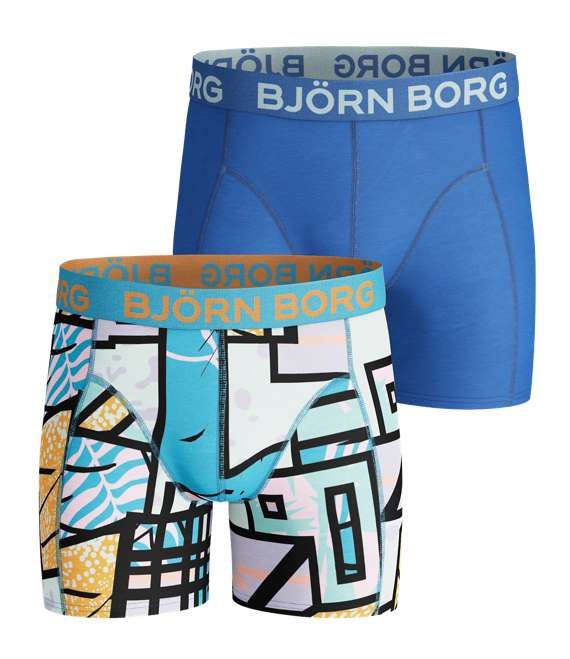 Björn Borg | 2p SHORTS BB MULTICOLOUR Aquarius