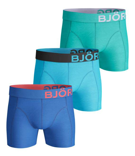 Björn Borg | 3p SHORTS SEASONAL SOLIDS Directoire Blue