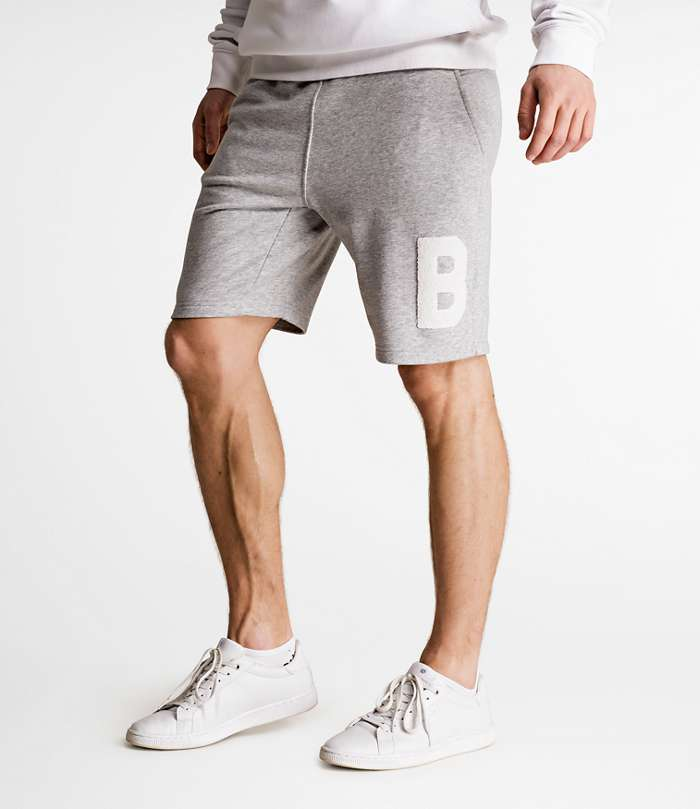 Björn Borg | 1p SHORTS LEON Light Grey Melange