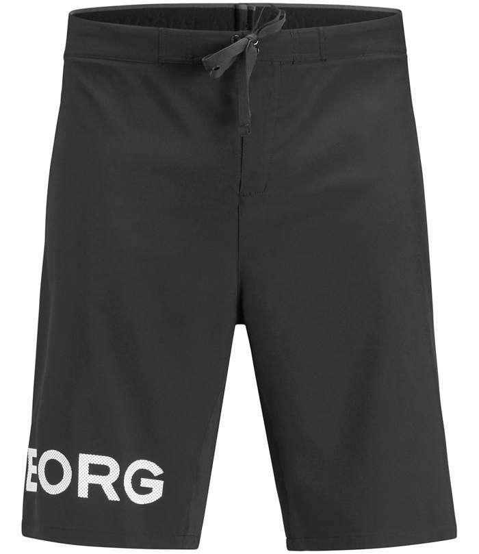 Björn Borg | Björn Borg PACE Shorts Black White Logo