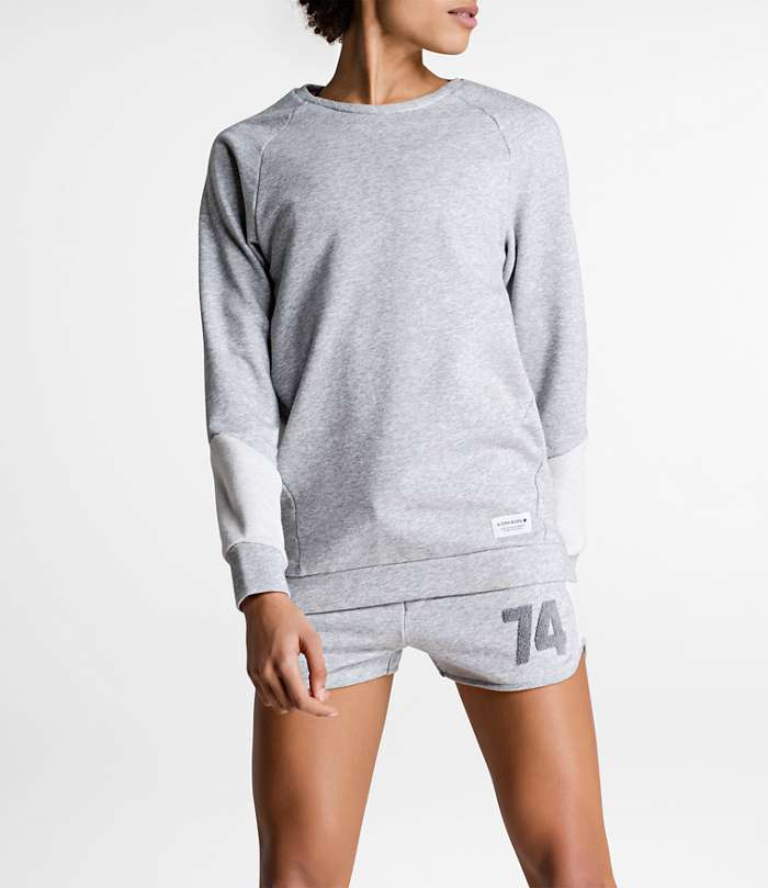 Björn Borg | 1p CREWNECK SIMONA Light Grey Melange