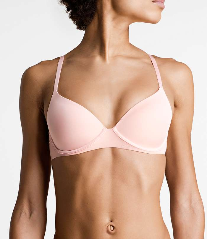 Björn Borg | 1p T-SHIRT BRA SEASONAL SOLIDS Peach Pearl