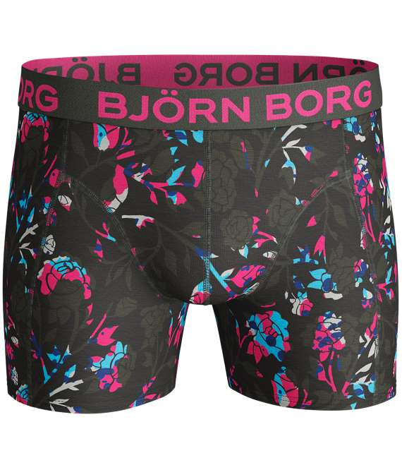 Björn Borg | 1p SHORTS BB FLORAL Rosin