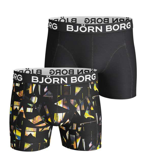 Björn Borg | 2p SHORTS BB SPLINTER Black