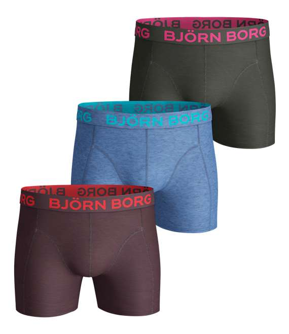 Björn Borg | 3p SHORTS SEASONAL SOLIDS Winetasting