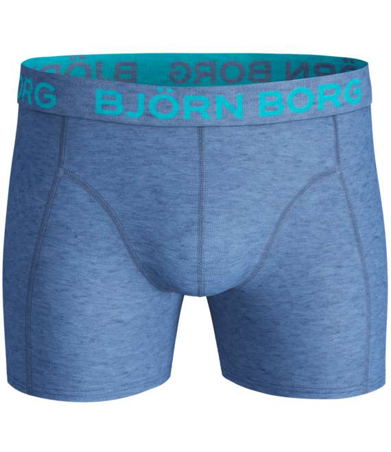 Björn Borg | 2p SHORTS SEASONAL SOLIDS Blue Melange BAB107