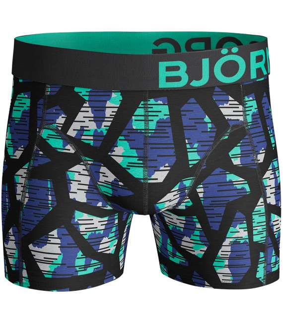 Björn Borg | 2p SHORTS BB TEXTURE & BB NATURE Black