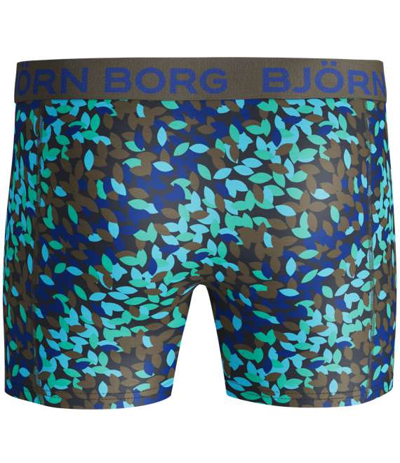 Björn Borg | 1p SHORTS BB LEAF Olive Night