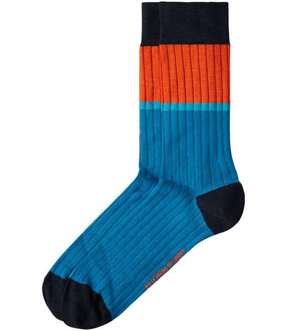 Björn Borg | 1p SOCK BB FAT STRIPE Gibraltar Sea