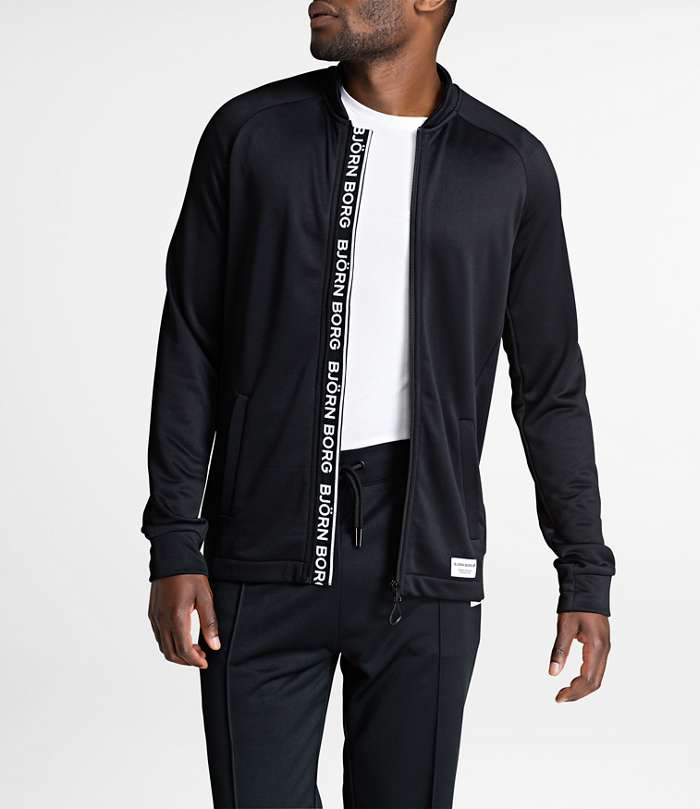 Björn Borg | 1p TRACK JACKET BRIAN Black Beauty