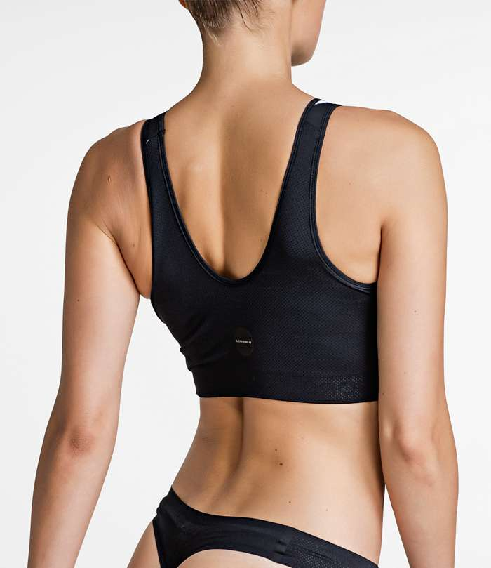 Björn Borg | 1p SPORT TOP BB ABSTRACT COURT Black Beauty