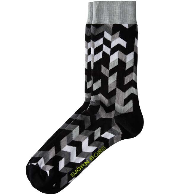 Björn Borg | 1p SOCK BB GRAPHIC Black Beauty