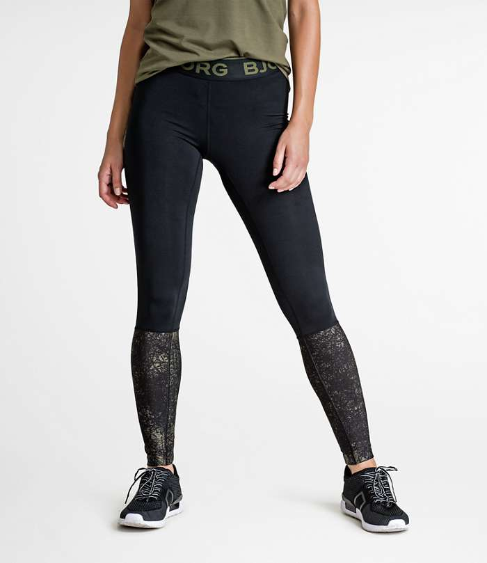 Björn Borg | 1p TIGHTS CONNIE Olive Night