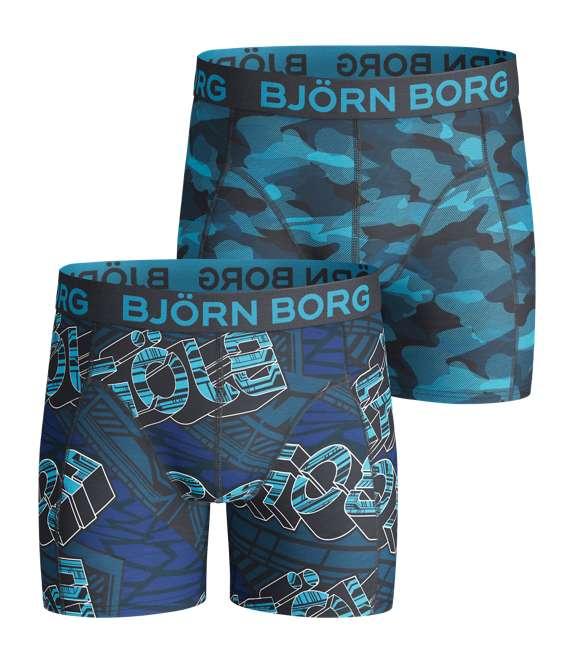 Björn Borg | 2p SHORTS BB BJÖRN IDENTITY & BB CAMOLINE Total Eclipse
