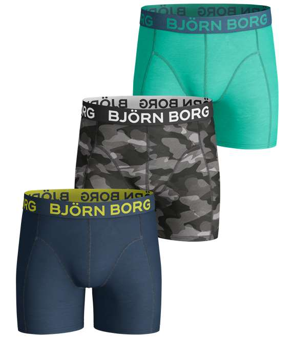Björn Borg | 3p SHORTS BB CAMOLINE Black Beauty