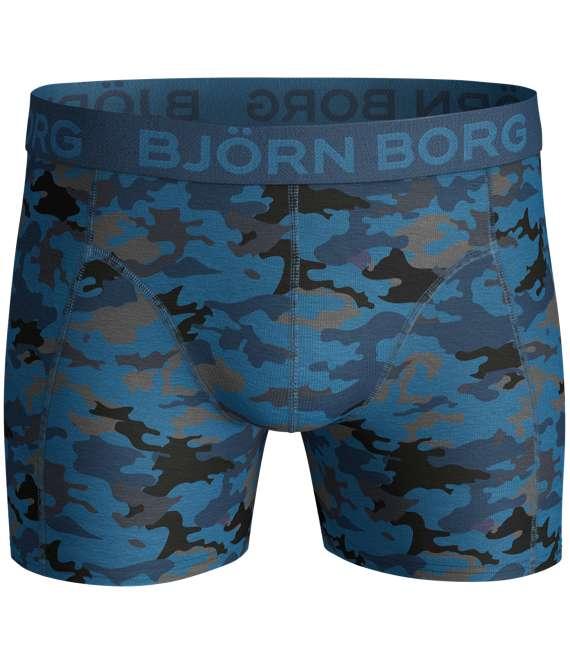 Björn Borg | 2p SHORTS BB CAMO S Mykonos Blue