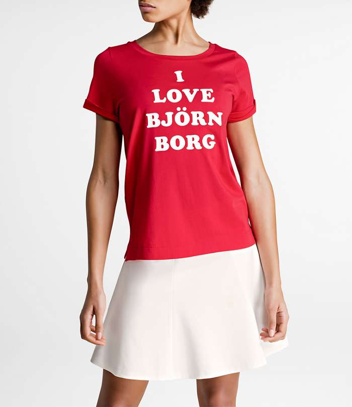 Björn Borg | 1p TEE SIGNATURE´86 Racing Red