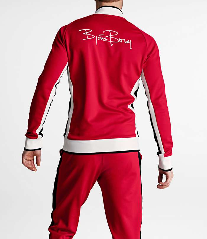 Björn Borg | 1p TRACK JACKET SIGNATURE´72 Racing Red