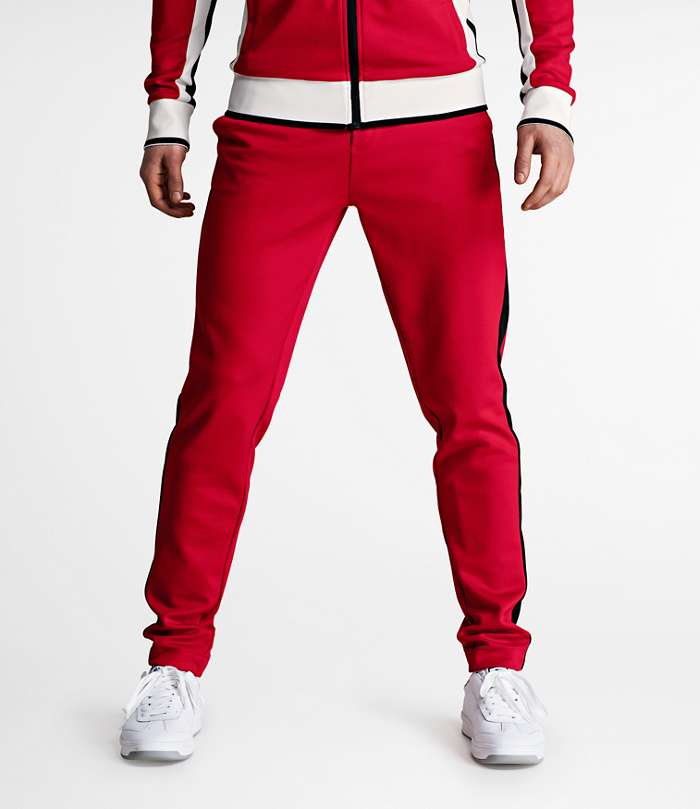 Björn Borg | 1p TRACK PANTS SIGNATURE´73 Racing Red