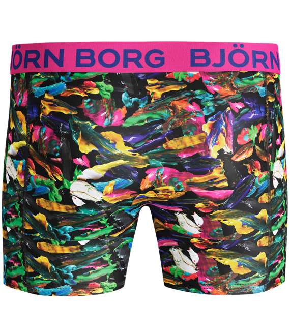 Björn Borg | 1p SHORTS BB SMUDGE Black Beauty