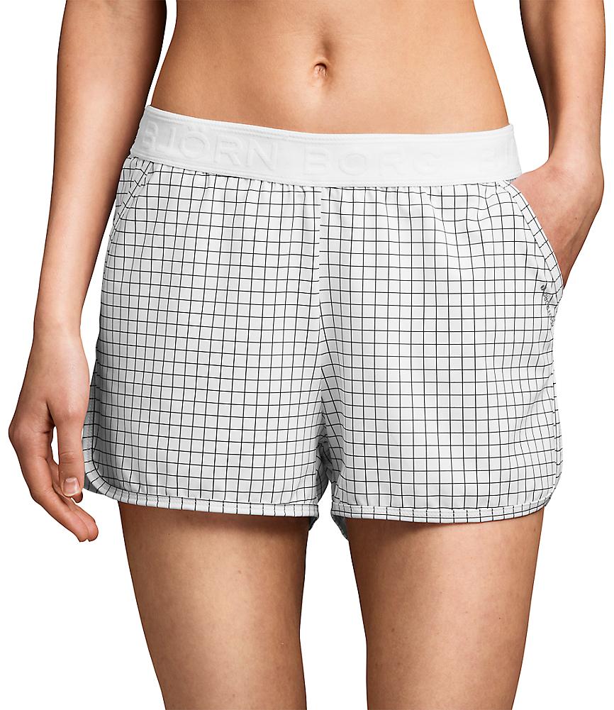 BB Trilota Shorts White