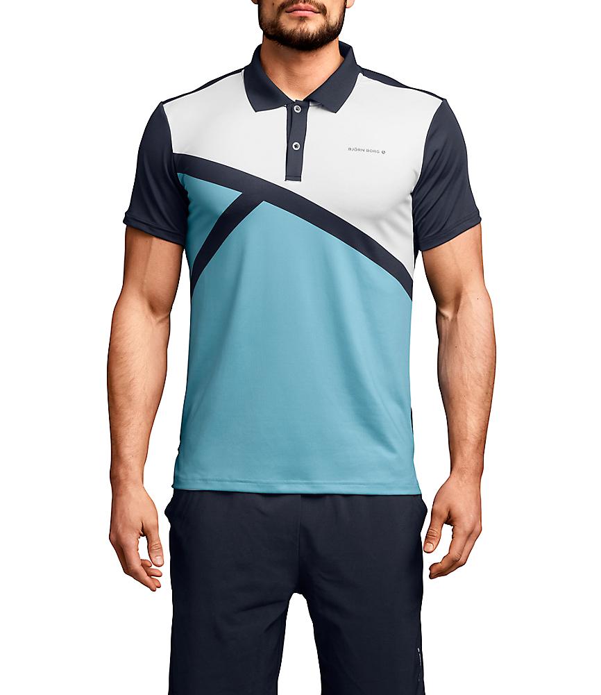 BB Ocker Polo shirt Navy