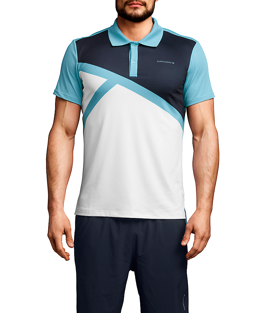 BB Ocker Polo shirt Blue