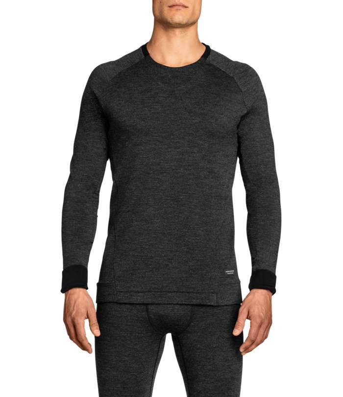 Björn Borg | Milo L/S T-shirt Anthracite Melange