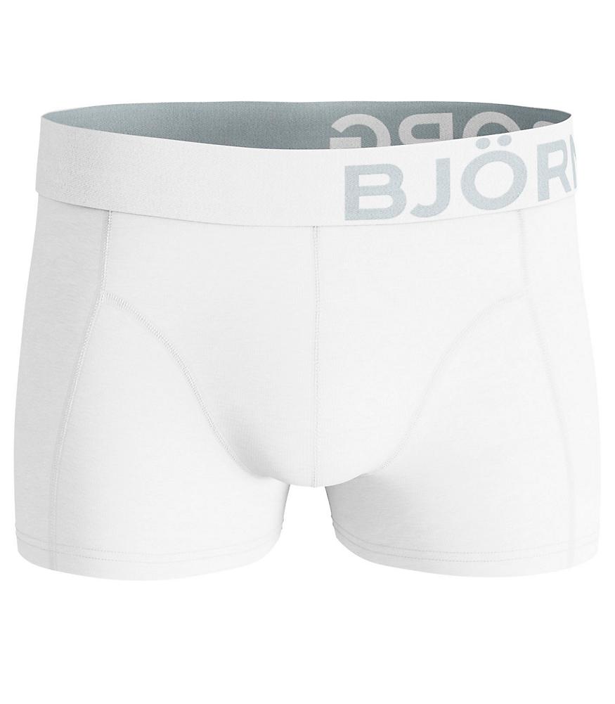 Solid Short Shorts White