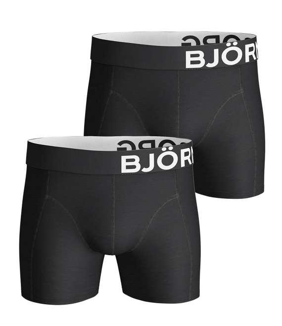 Björn Borg | 2p SHORTS NOOS SOLIDS Black
