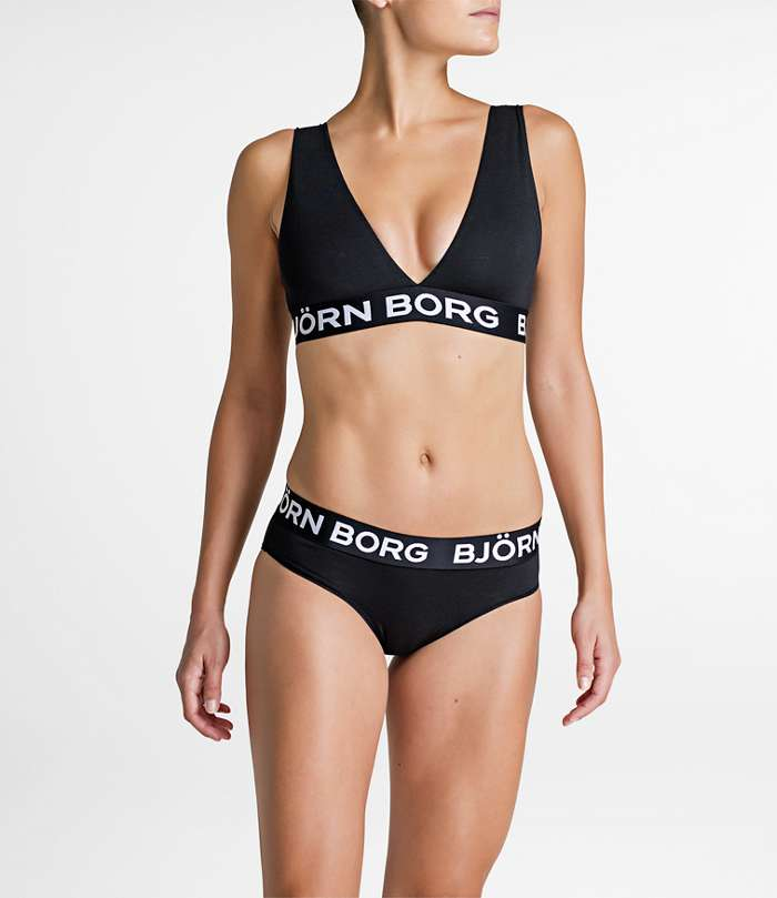 Björn Borg | 1p SOFT TOP NOOS SOLID Black Beauty