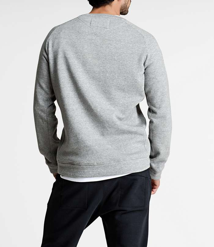 Björn Borg | 1p CREW BBCENTRE H108BY LIGHT GREY MELANGE