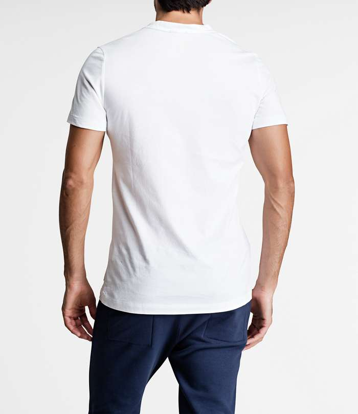 Björn Borg | 1p REGULAR TEE BBCENTRE Brilliant White