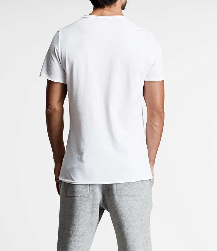 Björn Borg | 1p RELAXED TEE BBCENTRE Brilliant White