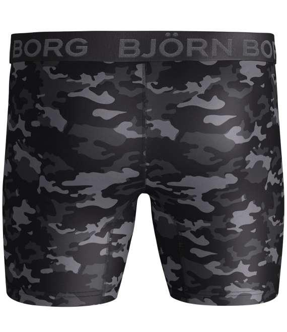 Björn Borg | 1p SHORTS BB TONAL CAMO Black Beauty