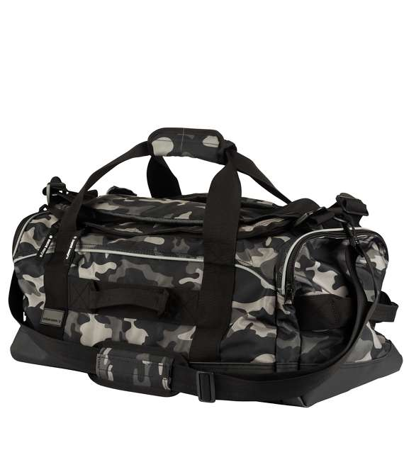Björn Borg | Bag - TERRY Black with army pattern