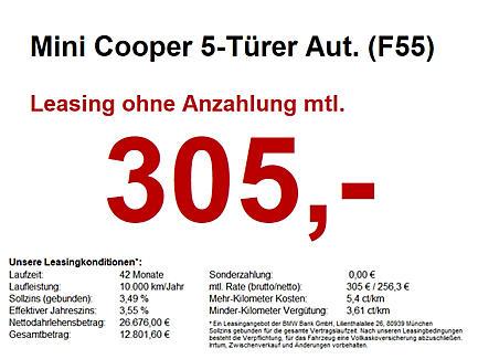 Cooper S 5-Türer