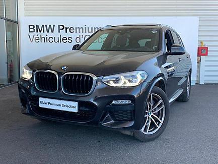 BMW X3 xDrive30d 265 ch Finition M Sport (tarif mars 2018)