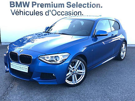 BMW 125i 218 ch trois portes Finition M Sport