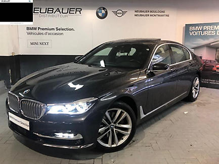 BMW 740i 326 ch Berline Finition Exclusive