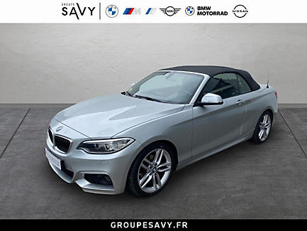 BMW 218d 150 ch Cabriolet Finition M Sport