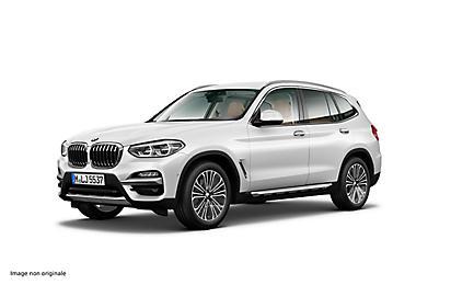 BMW X3 xDrive20d 190 ch Finition Luxury (tarif mars 2018)