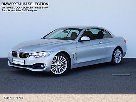 BMW 420i 184 ch Cabriolet Finition Luxury