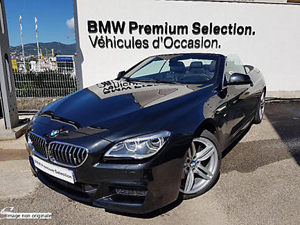 BMW 640d xDrive 313 ch Cabriolet Finition M Sport