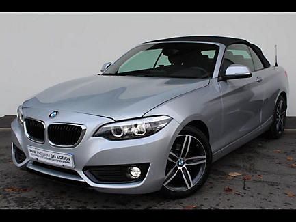 BMW 218i 136 ch Cabriolet Finition Lounge