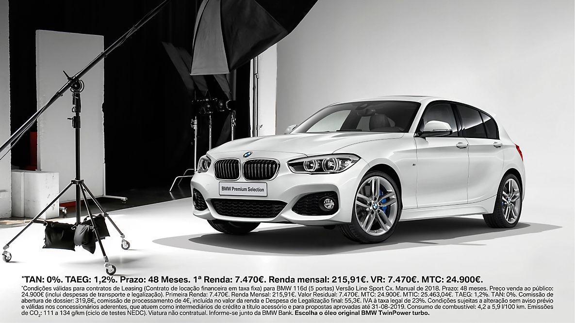 BMW 116d A PARTIR<br />DE 0% TAN*.