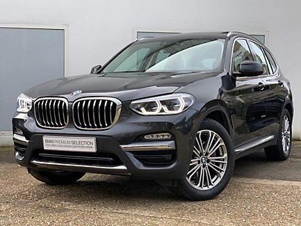 BMW X3 xDrive30i 252 ch Finition Luxury (tarif mars 2018)