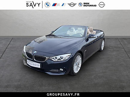 BMW 420d 184 ch Cabriolet Finition Luxury
